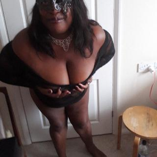 I enjoy talkkng dirty. Touching myself and moving seductively,  to titilate your senses. My large tits will cause excitement, jiggling to music to keep you entertained.  Your wish is my command!!